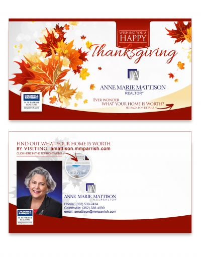 Thanksgiving Direct Mail